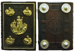 Orthodox service Gospel book in jewelry cover no.32