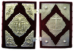 Orthodox service Gospel book in jewelry cover no.37
