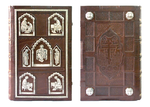 Orthodox service Gospel book in jewelry cover no.45