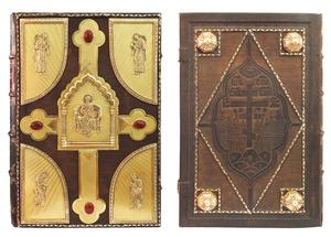 Apostle service book in custom-made jewelry cover no.50