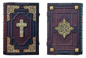 Apostle service book in custom-made jewelry cover