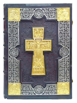 Orthodox service Gospel book in jewelry cover no.55