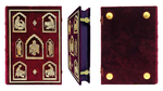 Orthodox service Gospel book in jewelry cover no.57