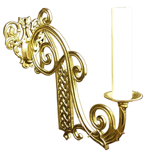 Church wall lamp - 402-1 (arm from PAK-003) (for 1 light)