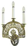 Church wall lamp - 404 (for 3 lights)