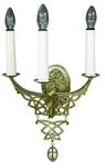 Church wall lamp - 407-2 (for 3 lights)