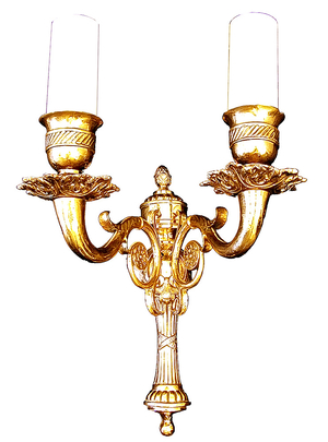 Church wall lamp - 411-2 (2 lights)