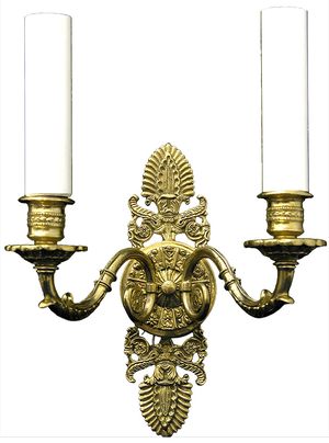 Church wall lamp - 417-2 (2 lights)