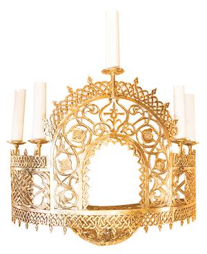 Church wall lamp - 432 (half of PAK-107) (5 lights )