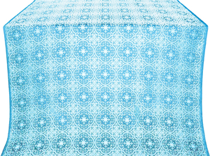 Shouya silk (rayon brocade) (blue/silver)