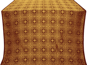 Shouya silk (rayon brocade) (claret/gold)