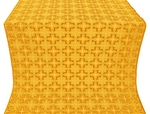 Custodian silk (rayon brocade) (yellow/gold)