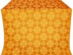 Pochaev silk (rayon brocade) (yellow/gold)