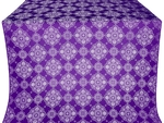 Pochaev silk (rayon brocade) (violet/silver)