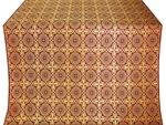 Zlatoust silk (rayon brocade) (claret/gold)