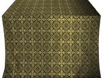 Zlatoust silk (rayon brocade) (black/gold)