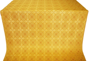 Zlatoust silk (rayon brocade) (yellow/gold)