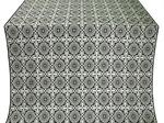 Zlatoust silk (rayon brocade) (black/silver)