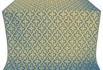 Solovki metallic brocade (blue/gold)