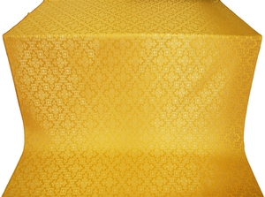 Solovki metallic brocade (yellow/gold)