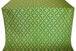 Solovki metallic brocade (green/gold)