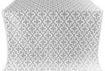 Solovki metallic brocade (white/silver)