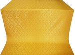Solovki silk (rayon brocade) (yellow/gold)
