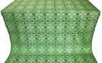 Nicea silk (rayon brocade) (green/silver)