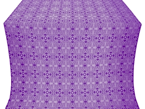 Nicea silk (rayon brocade) (violet/silver)
