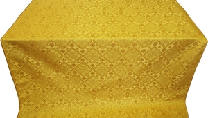 Souzdal silk (rayon brocade) (yellow/gold)