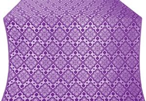Souzdal silk (rayon brocade) (violet/silver)