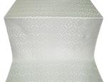 Souzdal silk (rayon brocade) (white/silver)