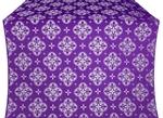 Kostroma silk (rayon brocade) (violet/silver)