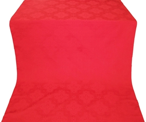 Kostroma silk (rayon brocade) (red)
