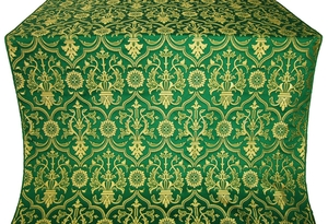 Prestol metallic brocade (green/gold)