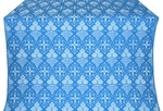 Vine metallic brocade (blue/silver)