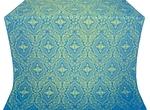 Don silk (rayon brocade) (blue/gold)