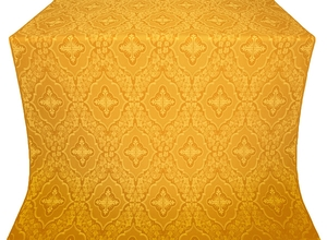 Don silk (rayon brocade) (yellow/gold)