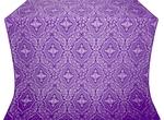 Don silk (rayon brocade) (violet/silver)