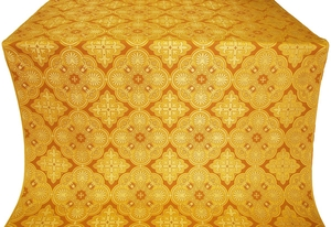 Pskov metallic brocade (yellow/gold)