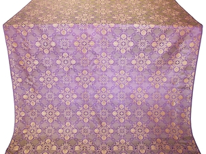 Pskov metallic brocade (violet/gold)