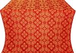 Rostov silk (rayon brocade) (red/gold)