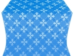 Podolsk silk (rayon brocade) (blue/silver)
