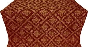 Simeonov silk (rayon brocade) (claret/gold)