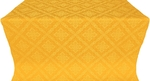 Simeonov silk (rayon brocade) (yellow/gold)