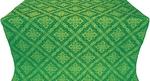 Simeonov silk (rayon brocade) (green/gold)