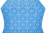 Kolomna posad silk (rayon brocade) (blue/silver)