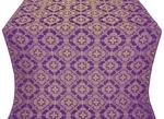 Kolomna posad silk (rayon brocade) (violet/gold)