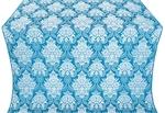 Pavlov Bouquet metallic brocade (blue/silver)