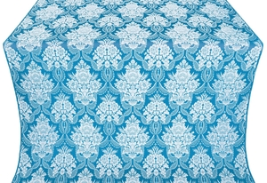 Pavlov Bouquet metallic brocade (blue/silver)